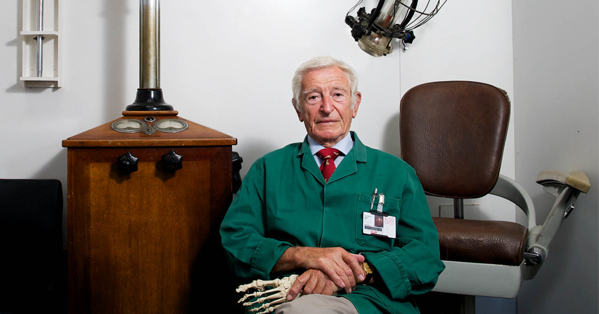 After 71 Years This Former Nhs Surgeon Is Still Day Webster